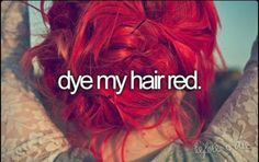 Before I die!