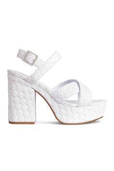 Platform sandals | H&M