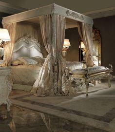 lovely Italian made 4-poster bed