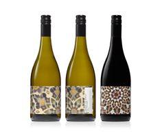 Wine lable design by Claudia Passera's studio CloudCo #wine #packaging