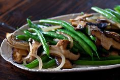 Green Bean and Shiitake Mushrooms Recipe on Yummly