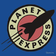 [ Planet Express T-Shirt ] has just appeared on www.ShirtRater.com! Do you like this shirt?  #animation #anime #cartoon #fan art #Futurama #humor #new new york #planet express #popular #sci fi #science fiction #shirt #space #t shirt #tees #television #time travel #tv #tv series