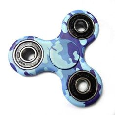 Free Shipping Camouflage Hand Spinner EDC ABS Fidget Spinner Cube Anti Stress Puzzle Toy to Kid Adult Finger Spiner Super Gift