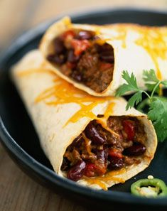 Recette de burrito au boeuf