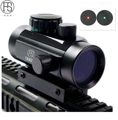 FS Hunting Tactical Riflescopes Red Green Dots holographic Optical Sight Scope Adjustable Rifle Gun Scope Model RD 1x40  #Affiliate