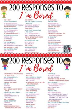 Things to do when bored at home or at someone elses house. Bored Jar, Bored Kids, Im Bored, Crafts To Do When Your Bored, What To Do When Bored, Things To Do When Bored For Teens, Things To Do On A Rainy Day, Things To Do At A Sleepover, Things To Do At Home