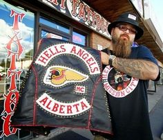 Hells Angels member says police are 'overstepping their bounds' Calgary Police, Biker Quotes, Hells Angels, Garage Art, Motorcycle Clubs, Ride Or Die, Audi Tt, Ford Gt, 1