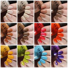 Opi Gel Polish, Opi Nail Polish Colors, Opi Nails, Gel Nail, Opi Collections, Manicure And Pedicure, Pedicures, Sinful Colors, Color Club