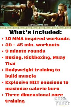 Beachbody's NEW MMA workout! Core De Force information guide
