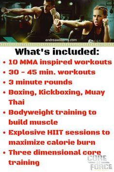 Beachbody's NEW MMA workout! Core De Force information guide