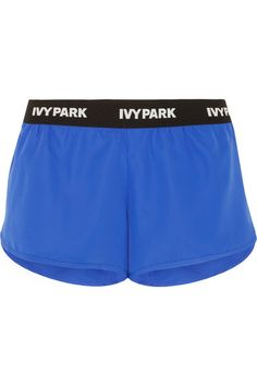 IVY PARK's activewear is designed to fit comfortably and provide built-in support. These lightweight cobalt-blue shorts are made from sweat-wicking, quick-drying shell with curved sides for freedom of movement and have an elasticated waistband stamped with the label's logo – a collection signature. We especially love how they're finished with soft stretch-mesh internal briefs and a concealed pocket for your keys.