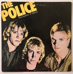 The Police - Outlandos d' Amour LP Vinyl Record Album, A&M Records - SP 4753, Rock, 1978, Original P
