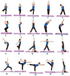 20 adımda yoga...... Yoga ya başlamak için tek gerekli olan şey enerji...
