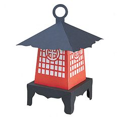 Table decor for Chinese New Year -This Japanese lantern is a unique and affordable addition to party tables.