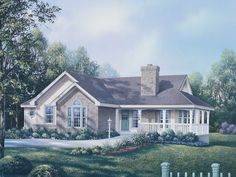 Peaceful Ranch Home With Wrap-Around Porch
