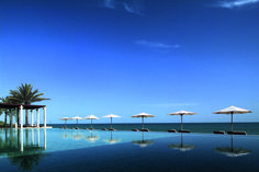 Relax at the Chedi hotel in Oman