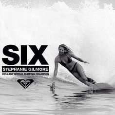 Stephanie Gilmore six times World Champion rosyhodge's photo on Instagram