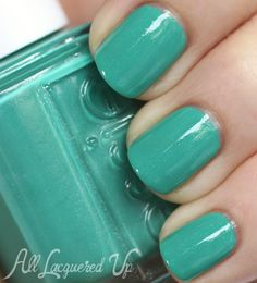 I love this color! Perfect for summer!!!