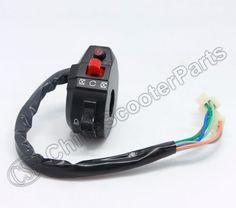 Kill Headlight Start Left Handlebar Switch 50cc 90cc Kazuma Mini Falcon Meerkat 7 wire old version