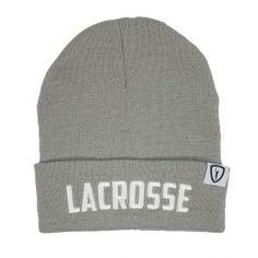 f73f518cc6f8b Adrenaline Fold Over Knit Cap - Grey. LacrosseWinter Hats