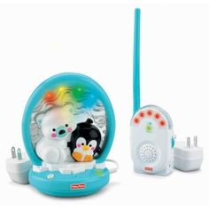 Fisher-Price Precious Planet Soothing Lights Monitor (Discontinued by Manufacturer) Fisher Price, Baby Wish List, Bear Theme, Baby Gadgets, Baby Monitor, Future Baby, Polar Bear, The Help, Planets
