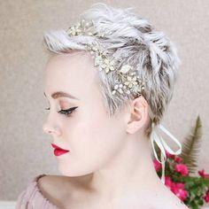 Die 48 Besten Bilder Von Brautfrisur Kurze Haare In 2018