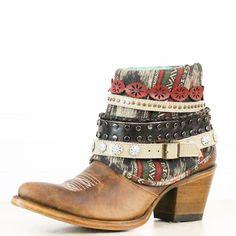 Honey Studded Ankle Boot