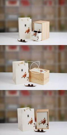 优品(米色)@七言设计采集到茶叶包装(七言)(12图)_花瓣平面设计