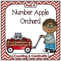 Number Apple Orchard (4 Activities for Learning 0-20) FREE