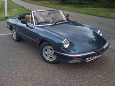 1989 Alfa Spider S3 2.0 Alfa Romeo Spider, S Car, Spiders, Sport Cars, Classic, Sports, Leather, Derby, Hs Sports
