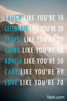 Like you are...