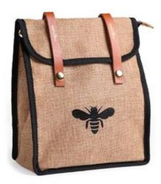 ≗ The Bee's Reverie ≗  Bee lunch bag   Skinny Mom