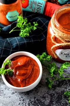 Sugar Free Hot and Smoky BBQ Sauce. BBQ sauce needs to be smoky hot and spicy thick and have a deep rich red color. My homemade sauce is all of that and sugar free! Homemade Barbeque Sauce, Homemade Sauce, Grilled Sausage, Grilled Meat, Smoked Pulled Pork, Chicken Spices, Food Shows, Grilling Recipes, Sauce Recipes