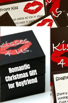 Looking for a Romantic Christmas Gift for Him?  Kisses 4 Us is just for you! Christmas Date, Romantic Christmas Gifts, Holiday Dates, Christmas Couple, Romantic Gifts, Christmas Wishes, Holiday Ideas, Diy Xmas Gifts, Christmas Gifts For Boyfriend