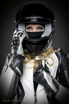 Motorcycle girl - see more cool motorcycle goodness at http://www.youmotorcycle.com                                                                                                                                                      More