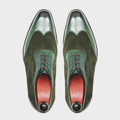 The Rainier III in Forest Green Leather/Suede - Something unique for the more…
