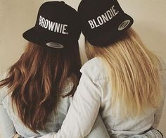 every blonde needs a brunette - Penelusuran Google