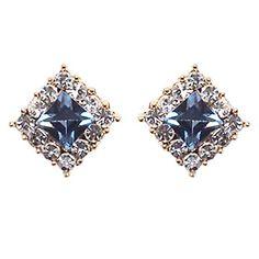 Clip On Earrings, Women's Earrings, Swarovski Crystals, Heart Ring, Sapphire, Pearls, Purple, Black, Jewelry