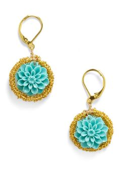 Cultivating Camellias Earrings