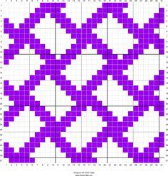 Free To Use Weaving Pattern Chart