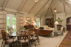 jack arnold french country homes | Homes - traditional - living room - other metro - by Jack Arnold ...
