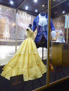 Disney Beauty and the Beast costumes and prop