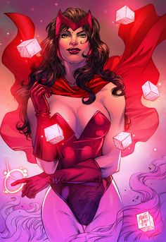 Scarlet Witch - Marcio Abreu, Colors: Vinicius Townsend