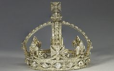 """Queen Victoria's """"small diamond crown""""  You know..for the days when you want to be more casual"""