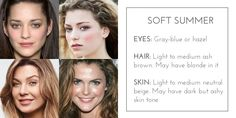 Soft Autumn Skin Tone | Color For Your Skin Tone: Summer