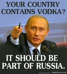 Vladimir Putin logic - http://www.rudefunny.com/memes/vladimir-putin-logic-2/