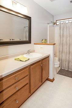 Full bathroom  3847 Tessier Trail, Vadnais Heights, MN 55127  http://www.movingtominnesota.com/property-item/gorgeous-vadnais-heights-home/