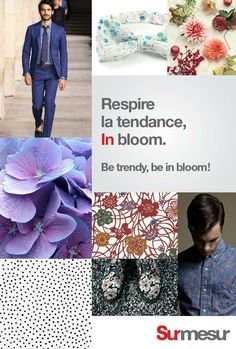 In bloom. Be in bloom! Masculine Style, Mode Masculine, Bloom, Easter Party, Suit And Tie, Well Dressed Men, Cool Suits, Costume, What To Wear