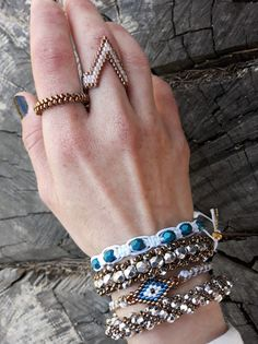 #3dbeadedring, #handmadering, #handmadejewels, #jewels, #beadedring, #evileyebracelet, #3dbeadedbracelet, #micromacrame, #bracelet, #flatspiral, #spiralbracelet, #evileye, #handmadebracelet, #ring, #evapolart, #handmade Beaded Rings, Beaded Jewelry, Beaded Bracelets, Handmade Bracelets, Handmade Jewelry, Evil Eye Bracelet, Micro Macrame, Czech Glass Beads, Jewels