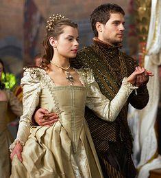 The Tudors - Season 3 - Episode 1 - Rebekah Wainwright as Catherine Brandon and Henry Cavill as Charles Brandon